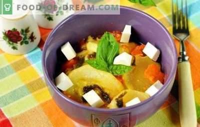 Garinti cukinijos lėtoje viryklėje - vitaminai neišvengs! Receptai cukinijos, virtos lėtoje viryklėje: su imbieru, medumi, varškės sūriu ir brendžiu
