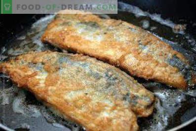 Comment faire cuire le maquereau dans une poêle à frire Maquereau Frit