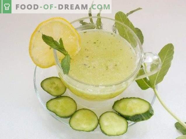 Limonade de concombre