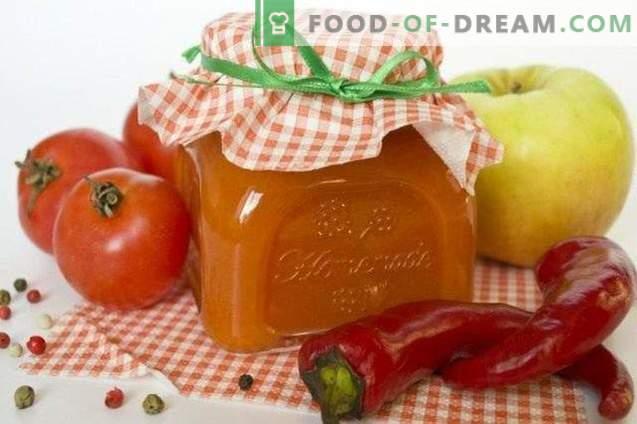 ketchup épicé avec Antonov
