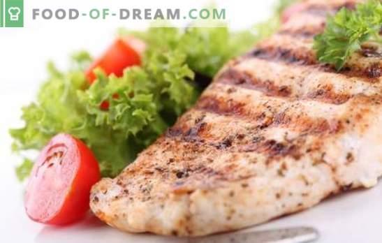 Poitrine de poulet - une fête de goût diététique. Méthodes de cuisson de la poitrine de poulet délicieux