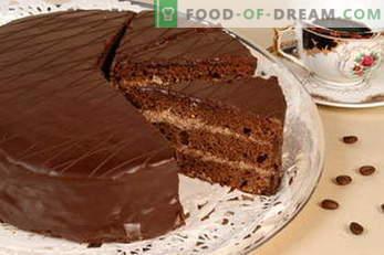 gâteaux. Recettes de gâteaux: Napoléon, Gâteau au miel, Biscuit, Chocolat, Lait d'Oiseau, Crème Aigre ...