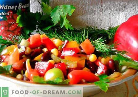 Salade mexicaine - les meilleures recettes. Comment cuire correctement et savoureux salade mexicaine.