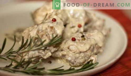 Lapin à la crème sure - les meilleures recettes. Comment cuire correctement et savourer le lapin dans la crème sure.