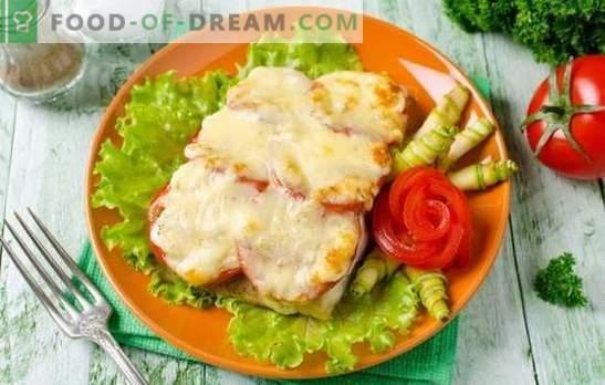 Le tilapia au fromage est un plat de poisson délicat. Variantes de tilapia avec du fromage dans la pâte, dans la pâte, sous forme de pain, cocotte et darnes