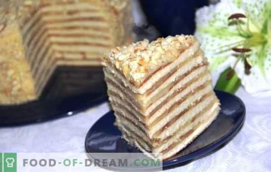 Cake dans une casserole avec du lait concentré est une aubaine! Recettes de gâteaux au miel, à la crème sure, au chocolat et au fromage blanc dans une casserole avec du lait concentré