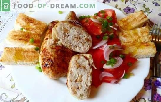 cuisses de poulet farcies - pour ceux qui aiment passer du temps sur des chefs-d'œuvre! Recettes pour diverses garnitures au poulet farci