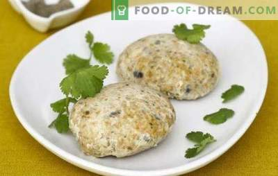 Fish patties from whiting - solid savings! Recipes for fish patties from whiting in a griddle, in the oven, steamed