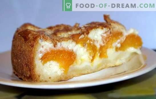 La tarte à la levure et à l'abricot donnera une chance à tout gâteau. Recettes de tartes aux levures ouvertes et fermées avec des abricots