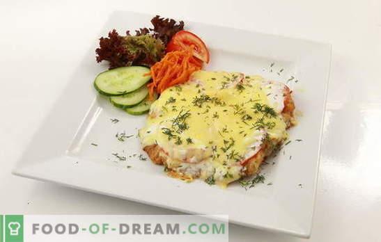 Le filet de poulet en français n'est pas que des pommes de terre, du fromage, des champignons et de la mayonnaise! Cuire le filet de poulet en français: les meilleures recettes