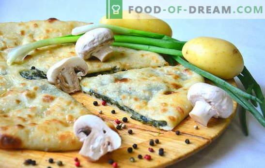 La tarte aux pommes de terre et aux oignons est une saveur faite maison! Recettes de différentes tartes aux pommes de terre et aux oignons au four et dans le multicuiseur