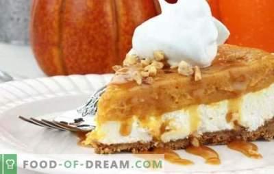 Dessert à la citrouille - ajoutez des couleurs vives d'automne nuageux. Comment faire cuire un délicieux dessert à la citrouille rapidement, savoureux, vitamine