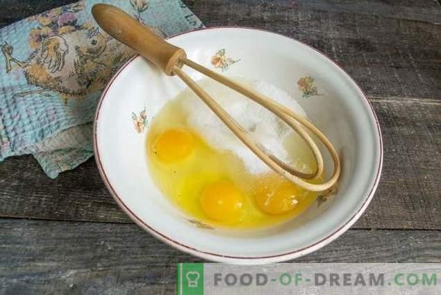 Un simple gâteau éponge pour Pâques