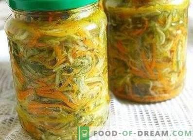 Salade de concombre et carotte pour l'hiver