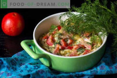 Omelette au micro-ondes