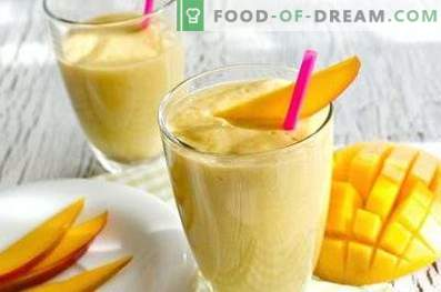 Smoothie à la mangue