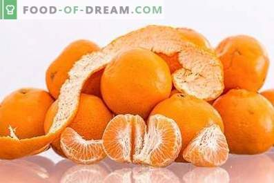 Mandarines: avantages et inconvénients pour la santé