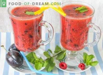 Smoothies aux prunes