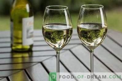 avec quoi ils boivent du vin blanc sec