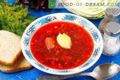 Comment faire cuire la soupe de betterave rouge avec la betterave rouge