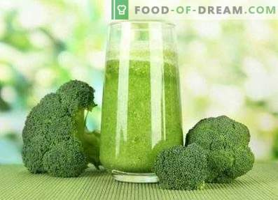 Smoothie au brocoli