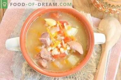 Soupe au bulgur