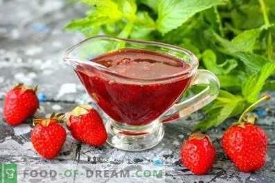 Sirop à la fraise