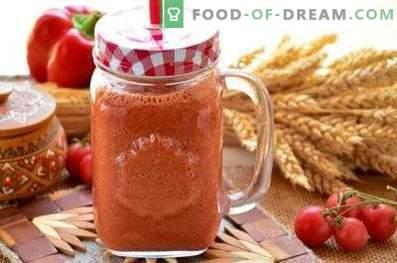 Smoothies à la tomate