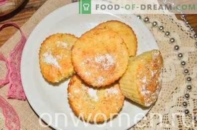Petits gâteaux aux pommes et à la cannelle