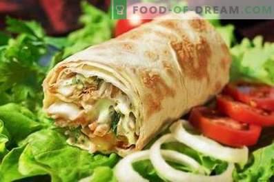 shawarma au porc