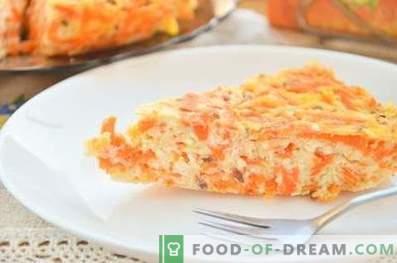 Casserole de fromage cottage avec citrouille et graines de lin