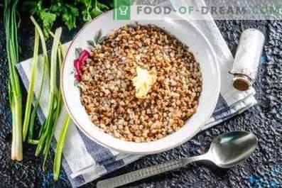 Comment faire cuire la bouillie de sarrasin