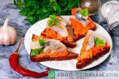 Sandwiches au hareng