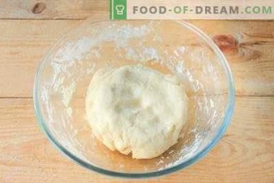 Pâte pour boulettes de pommes de terre
