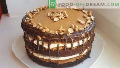 Gâteau Snickers