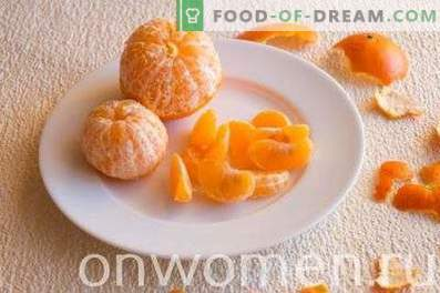 Smoothie à la mandarine