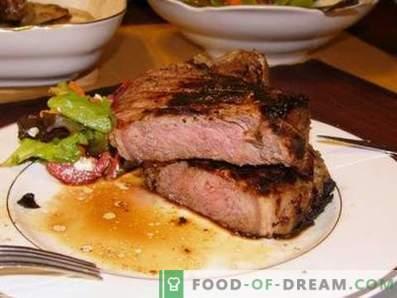 Steak de boeuf au four