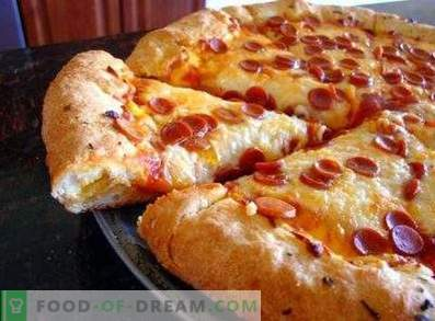 Magnifique Pâte à Pizza