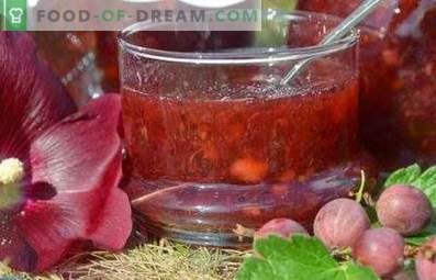 Gooseberry jam without cooking