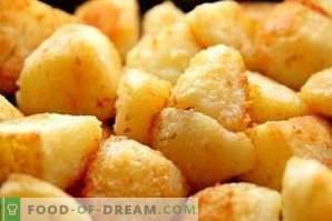 Que faire si les pommes de terre sont trop salées
