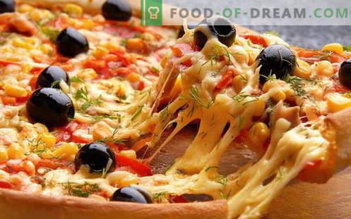 Cuire une pizza italienne et libérer le réfrigérateur